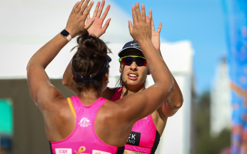 Olympic Beach Volleyball stars shine in impressive tour final at Coolangatta