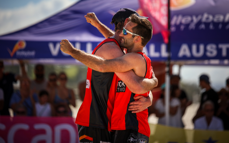Clean sweep for Commonwealth Games champions McHugh and Schumann at Australian Beach Volleyball Tour final